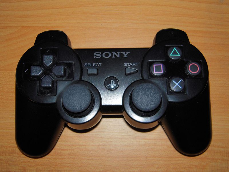 Photorealistic PlayStation 3 dualshock controller
