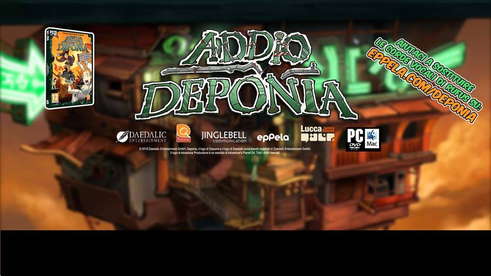 goodbye deponia italiano