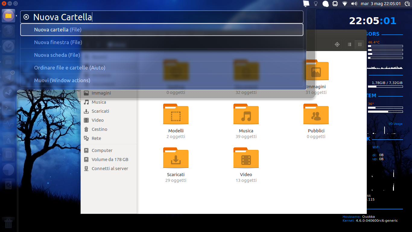 HUD Ubuntu